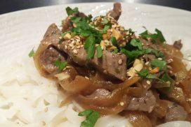 Bœuf au wok